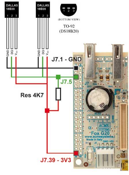 DS18B20 - aktivní napájení